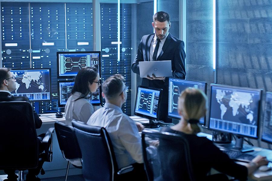 Icon Krisenmanagement im Unternehmen